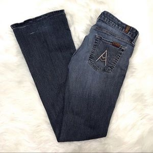 7FAM 7 For All Mankind bootcut A Pocket Jeans sz24